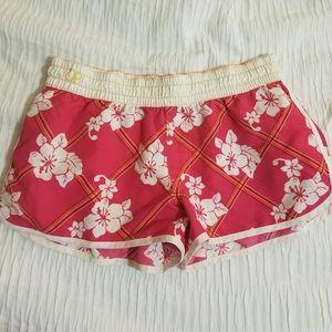 OP Floral Pink Swim Shorts